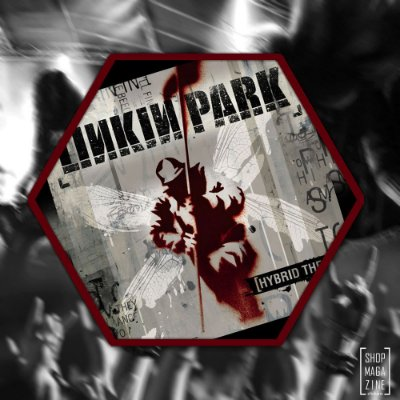 Linkin Park Hybrid Theory sticker
