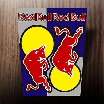 Adesivos refletivos Red Bull touro