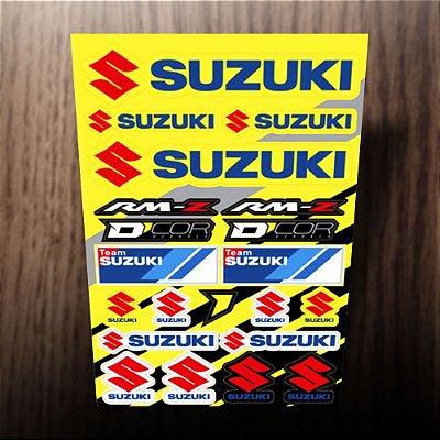 Adesivos refletivos Suzuki