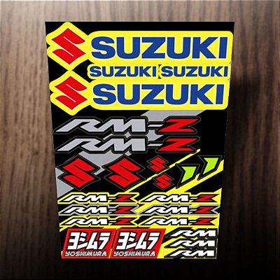 Adesivos refletivos Suzuki RM, yoshimura