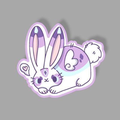 love Bunny Sticker