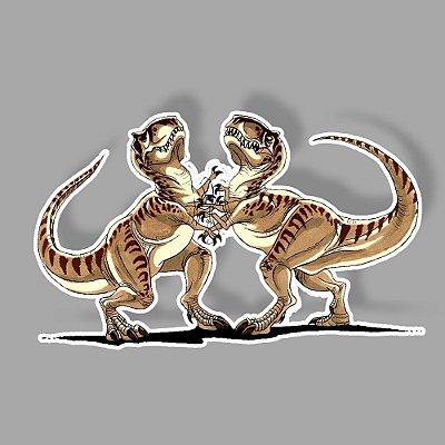 Raptors fight Sticker