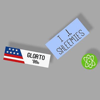 Glorto 86b ship Sticker