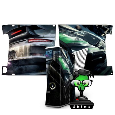 Skin xbox 360 slim Need for speed