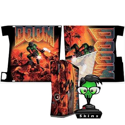 Skin xbox 360 slim Doom classic