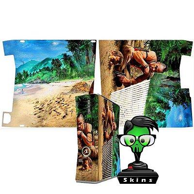 Skin xbox 360 slim Far Cry Vaz