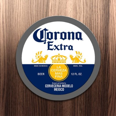Corona Extra placa impermeável pvc 1mm