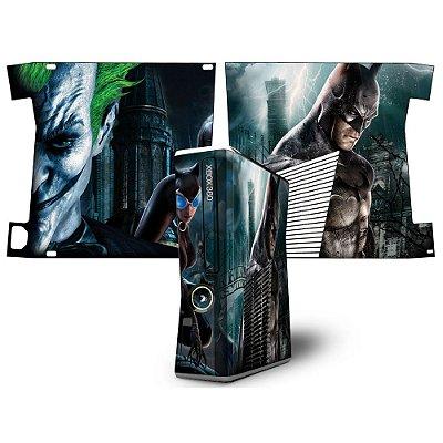 Skin xbox 360 slim Batman arkahan