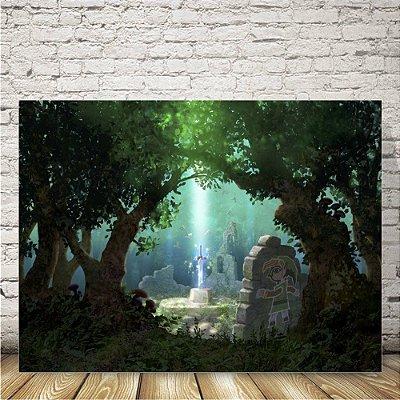 The legend of ZeldaPlaca mdf decorativa