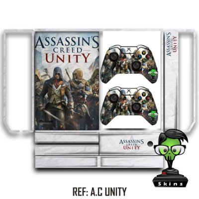 Adesivo skin xbox one fat Assassins creed Unity