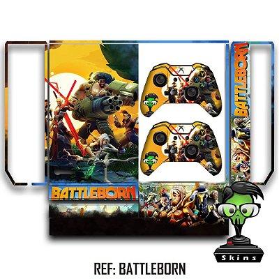 Adesivo skin xbox one fat Battleborn