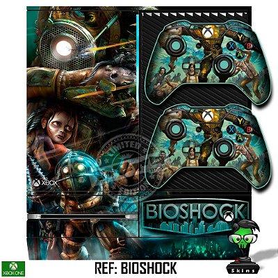 Adesivo skin xbox one fat Bioshock