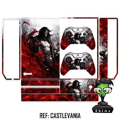 Adesivo skin xbox one fat Castlevania