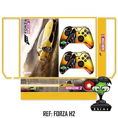 Adesivo skin xbox one fat Forza h2