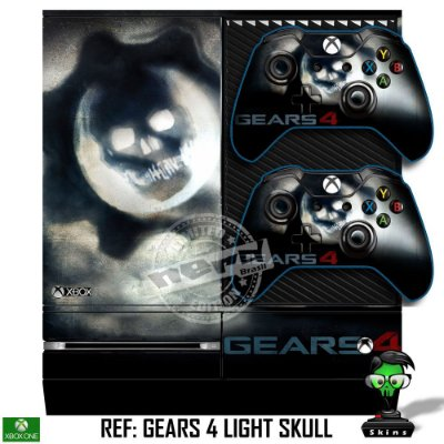 Adesivo skin xbox one fat Gears 4