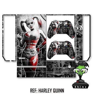 Adesivo skin xbox one fat Harley quinn