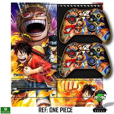 Adesivo skin xbox one fat One Piece
