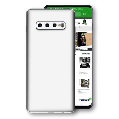 skin branco jateado Samsung Galaxy S10