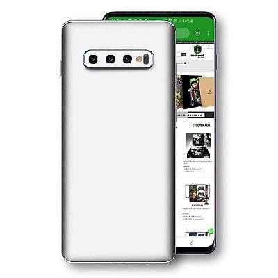 skin branco brilho Samsung Galaxy S10