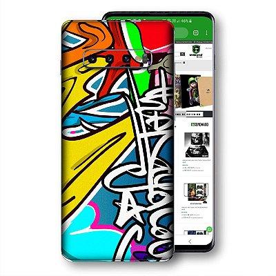 skin adesivo Samsung Galaxy S10 graffit 2