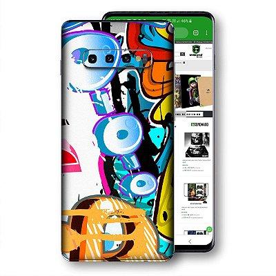 skin adesivo Samsung Galaxy S10 graffit 3