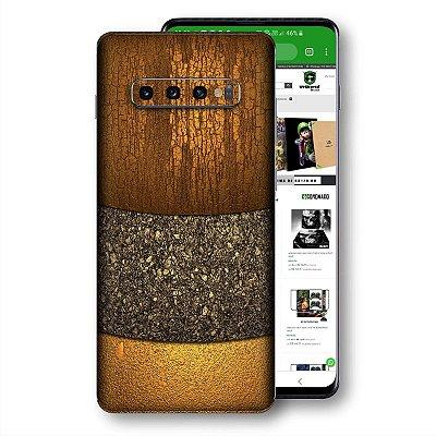 skin adesivo Samsung Galaxy S10 textura 2