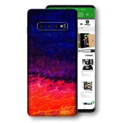 skin adesivo Samsung Galaxy S10 textura 4