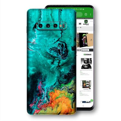 Skin adesivo Samsung Galaxy S10 textura 12