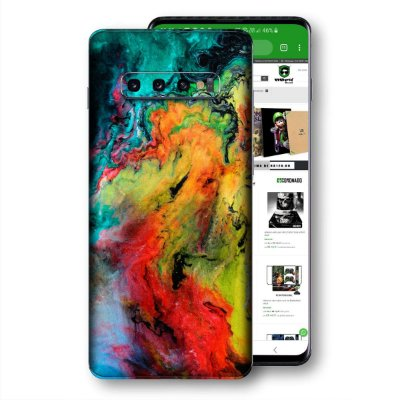 Skin adesivo Samsung Galaxy S10 textura 13