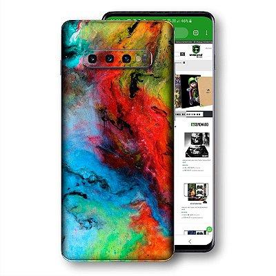 Skin adesivo Samsung Galaxy S10 textura 14