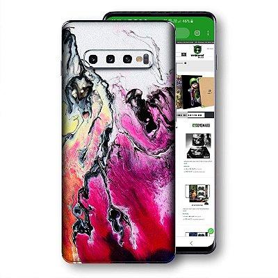 Skin adesivo Samsung Galaxy S10 textura 17