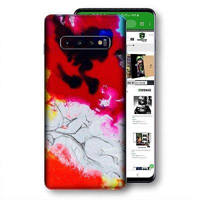 Skin adesivo Samsung Galaxy S10 textura 18