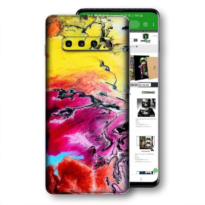Skin adesivo Samsung Galaxy S10 textura 21