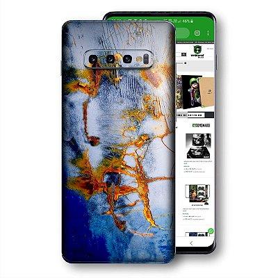 Skin adesivo Samsung Galaxy S10 textura 30