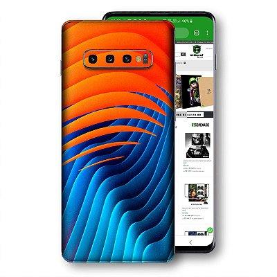 Skin adesivo Samsung Galaxy S10 textura 32