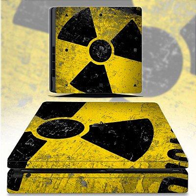 Adesivo skin ps4 slim Radioativo