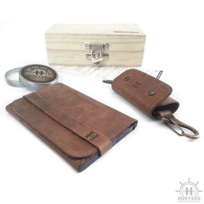 Kit carteira Hunters Handmade Old Saylor