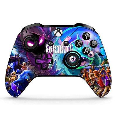 Adesivo de controle Xbox one skin Fortnite 1