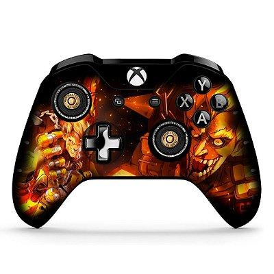 Adesivo custom controle Xbox one skin Overwatch