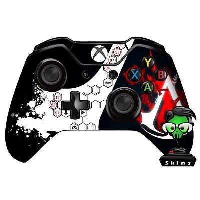 Adesivo custom controle Xbox one skin Assassins creed