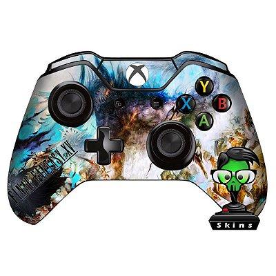 Adesivo custom controle Xbox one skin Final Fantasy 15