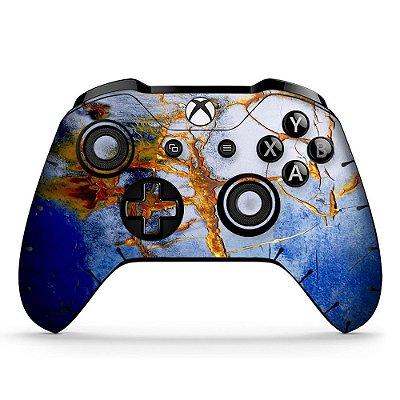 Adesivo custom controle Xbox one skin cracked-and-cracked-x4