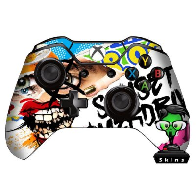 Adesivo custom controle Xbox one skin Sunset overdrive 1