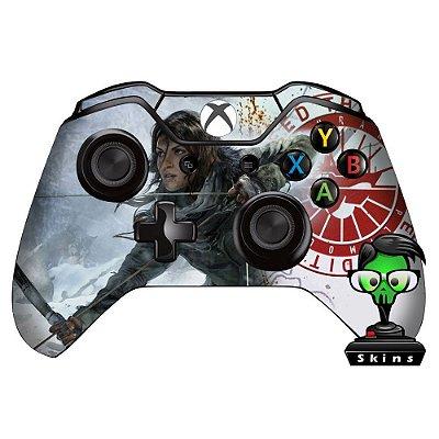 Adesivo custom controle Xbox one skin Tomb Raider