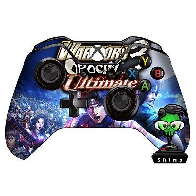 Adesivo custom controle Xbox one skin Warriors of orochi