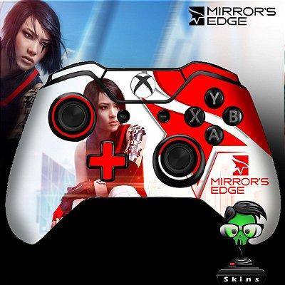 Adesivo custom controle Xbox one skin Mirrors Edge