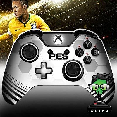 Adesivo de controle Xbox one skin PES Branco