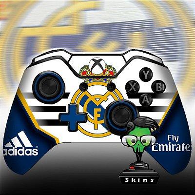 Adesivo de controle Xbox one skin Real Madrid