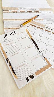 Kit Planejamento anual + Diário - Spring