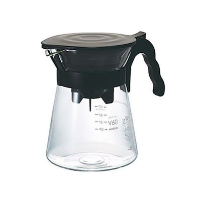 Conjunto para coar café - Hario - Preto - 700ml